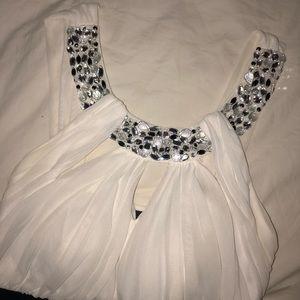 City Studio Black & White Mini-Dress